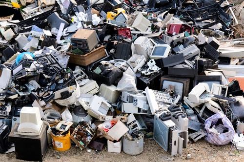 Electronics scrapheap