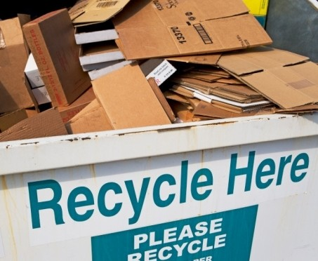 "Recycling involves more than ""Going Green"" slogans."